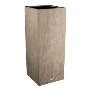 Bloempot voor binnen Beige Fiberstone van Vase the World
