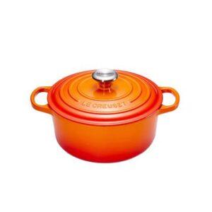 Braadpan Oranje Gietijzer van Le Creuset