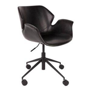 """Bureaustoel Zwart """""""" van Zuiver"""