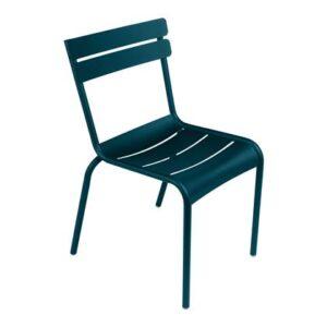 Dining stoel Blauw Aluminium van Fermob