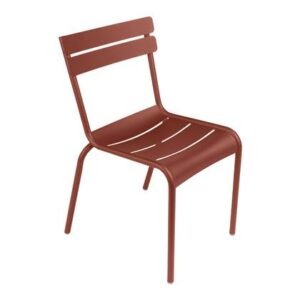 Dining stoel Rood Aluminium van Fermob