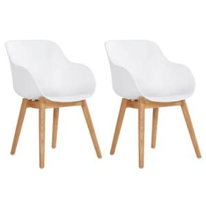 Dining stoel Wit Polyester van Hartman