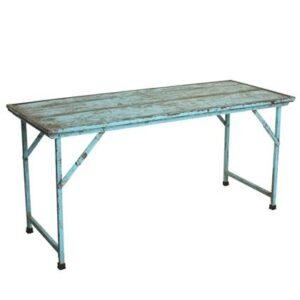 """Eettafel Blauw """""""" van Raw Materials"""