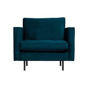 Fauteuil Blauw Polyester van BePureHome