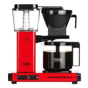 Filter koffiezetapparaat Rood Glas
