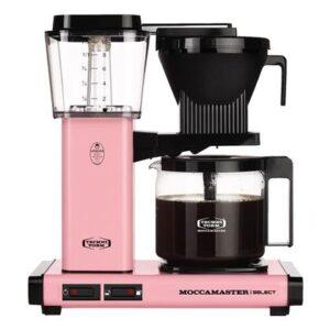 Filter koffiezetapparaat Roze Glas