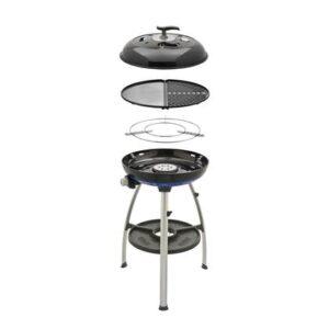 Gasbarbecue Zwart Aluminium