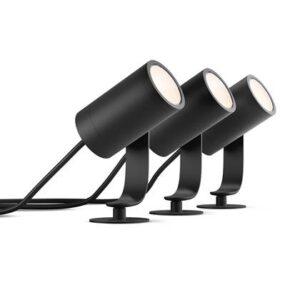 Grondspot Zwart Aluminium van Philips Hue