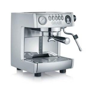 Halfautomatische espressomachine Grijs Aluminium