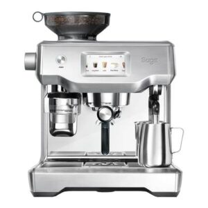 Halfautomatische espressomachine RVS RVS van Sage