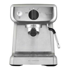 Halfautomatische espressomachine Zilver Kunststof