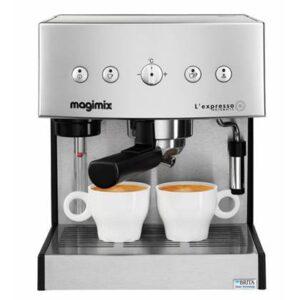 """Halfautomatische espressomachine Zilver """""""" van Magimix"""
