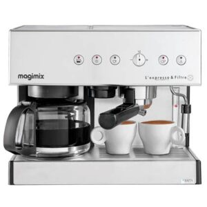 Halfautomatische espressomachine Zilver RVS van Magimix