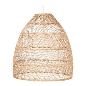 Hanglampen Beige Plastic