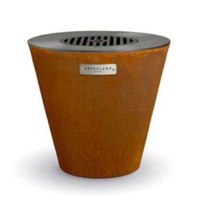 Houtskoolbarbecue Bruin Staal van Arteflame