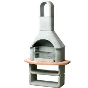 Houtskoolbarbecue Grijs Beton van Buschbeck