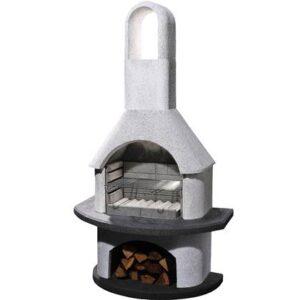Houtskoolbarbecue Grijs