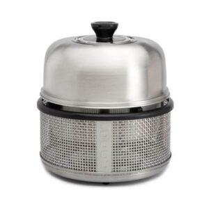 Houtskoolbarbecue Zilver RVS van Cobb