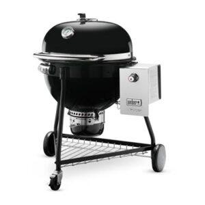 Houtskoolbarbecue Zwart RVS van Weber