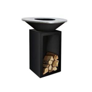 Houtskoolbarbecue Zwart Staal van OFYR