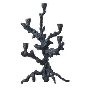 Kandelaar Zwart Aluminium van Pols Potten