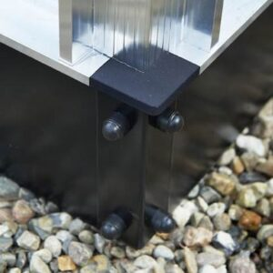 Kasfundering Grijs Staal van Royal Well