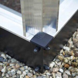 Kasfundering Zwart Aluminium van Royal Well