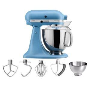 Keukenmixer Blauw Metaal van KitchenAid