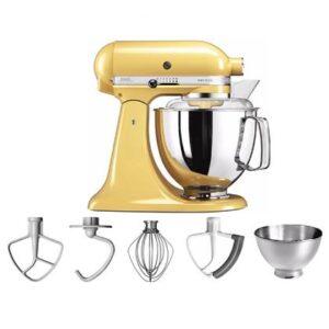 Keukenmixer Geel Metaal van KitchenAid