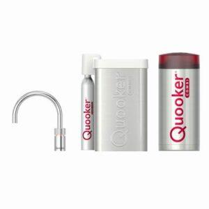 Kokendwaterkraan Zilver Chroom van Quooker