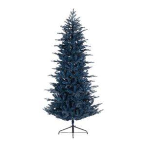 Kunstkerstboom Blauw Kunststof van Everlands