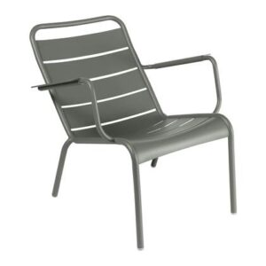 Lounger Groen Aluminium van Fermob