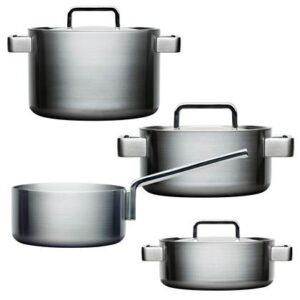 Pannenset Zilver RVS van Iittala