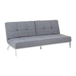 Slaapbanken Grijs Textiel van Vestbjerg