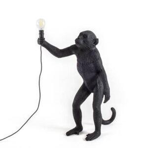 Sokkellamp Zwart Kunststof van Seletti