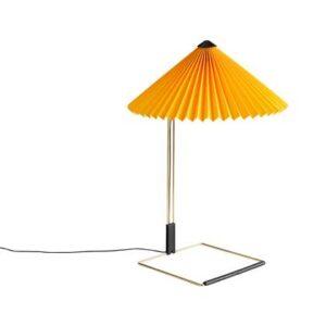Tafellampen Geel Katoen