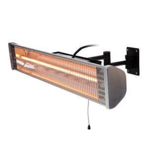 Terrasverwarmer Wit Aluminium