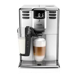 Volautomatische espressomachine Wit Kunststof