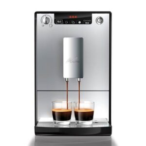 Volautomatische espressomachine Zilver