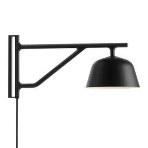Wandlampen Zwart Aluminium