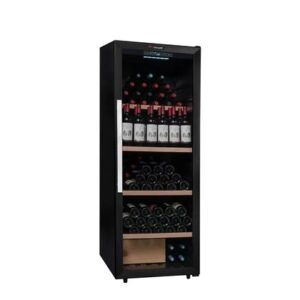 Wijnklimaatkast Zwart RVS van Climadiff