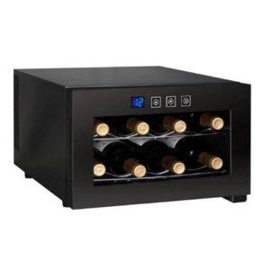 """Wijnklimaatkast Zwart """""""" van Temptech"""