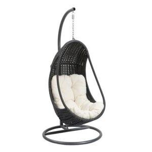 Hangstoel Zwart Metaal