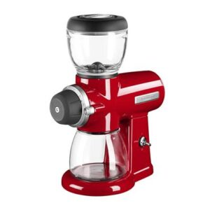 Koffiemolen Rood Glas