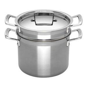 Kookpan Zilver RVS van Le Creuset