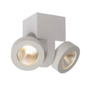 LED-verlichting Wit Aluminium van Lucide