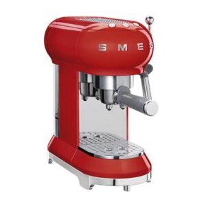 Halfautomatische espressomachine Rood Kunststof