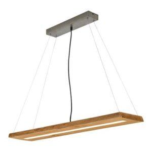 Hanglampen Bruin Hout