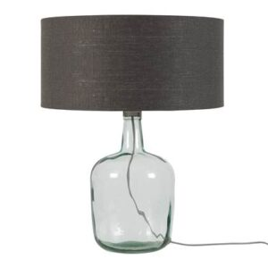 Tafellampen Grijs Glas