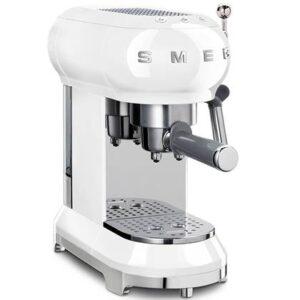 Halfautomatische espressomachine Wit Kunststof